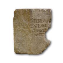 Pilátus kő Cesarea-ból