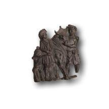 Áldozati jelenetet ábrázoló bronzplasztika