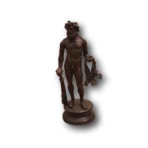 Hercules bronzszobra