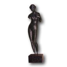 Venus bronzszobra