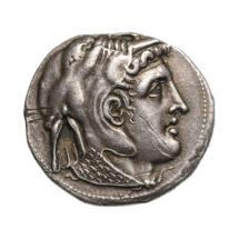 Ptolemaiosz Szótér tetradrachmája