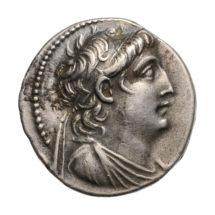 VII. Antiochosz ezüst tetradrachmája