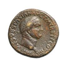 Titus bronz sestertius