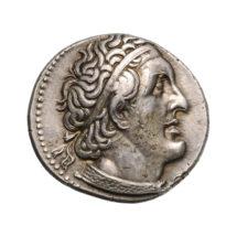 I. Ptolemaiosz, vagy utóda, Ptolemaiosz Philadelphosz pénze