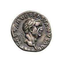 Vespasianus ezüstdénára