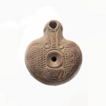 Egyégős egyiptomi békamécses