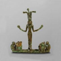 Egyipto-kánaáni istennő szobrocska